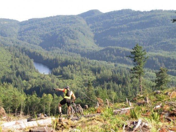 """Mountain Biker at Cedar Ridge"""