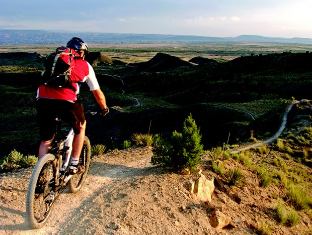 """Mountain Biking at Cedar Ridge"""