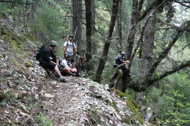 """""""Mountain Biking at Mount Shasta"""""""
