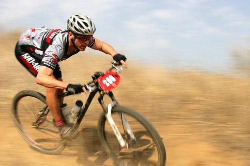 """Mountain Biking"""