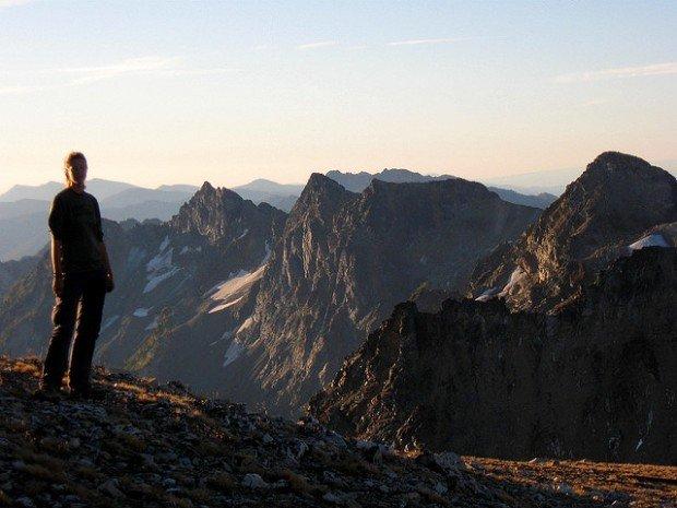 """Mountain Climbing Mount Maude"""