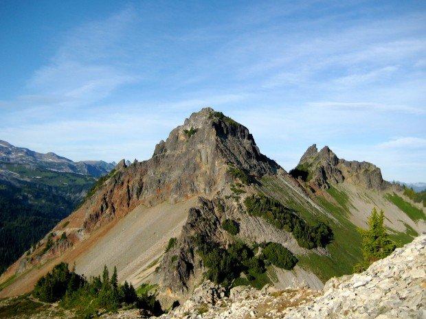 """Mountain Climbing Pinnacle Mountain"""