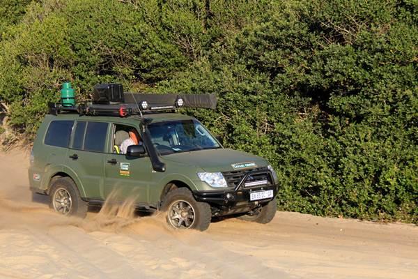 """Ndumo Game Reserve, Elephant Coast Four Wheel Driving"""