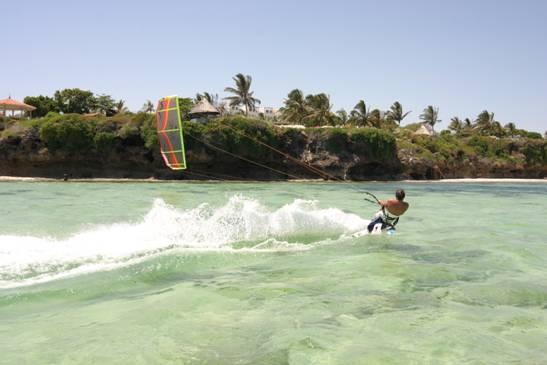 """""""Nyali Beach, Mombasa Kitesurfing"""""""