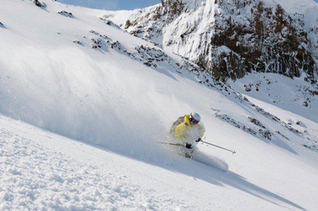 """""""Parsen Bowl Alpine Skier"""""""