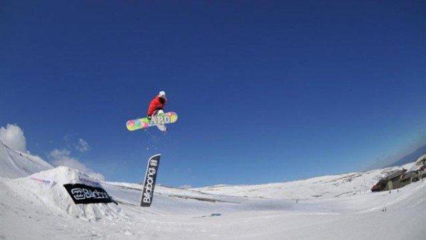 """Pertouli, Trikala Snowboarding"""