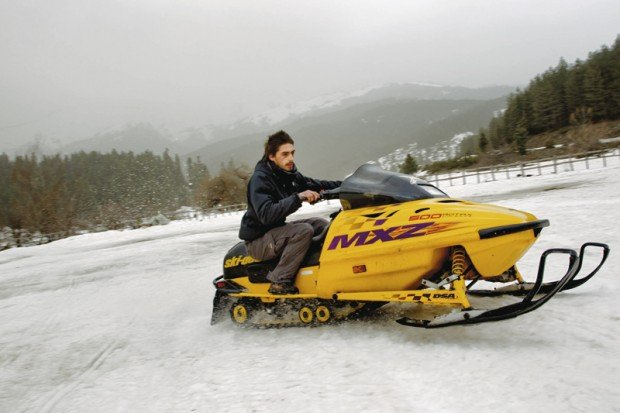 """Pertouli, Trikala Snowmobiling"""
