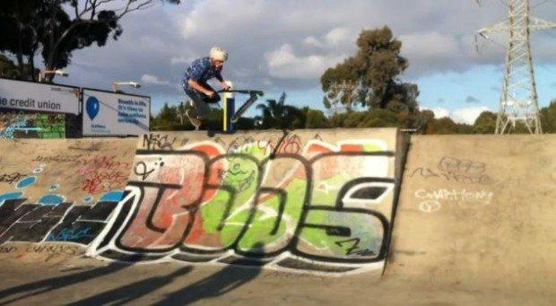 """""""Pooraka Skatepark, Scootering"""""""