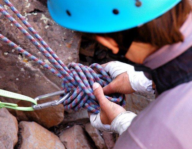"""Rock Climbing Colchuck Balanced Rock-Rikki Tikki Tavi Route"""