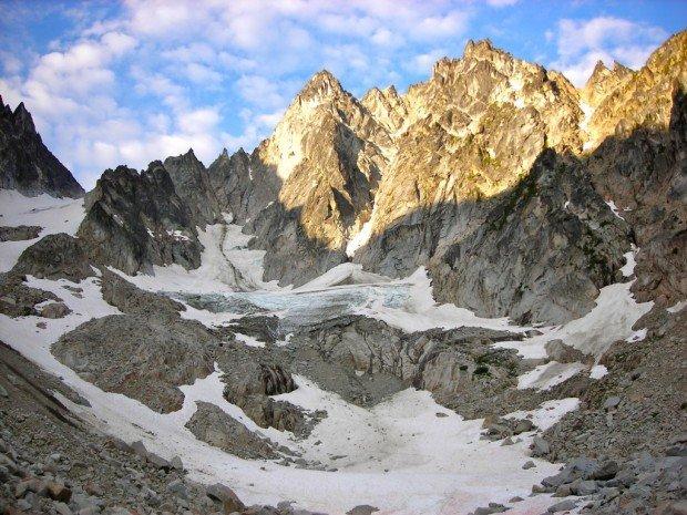 """Rock Climbing Colchuck Peak-Colchuck Glacier"""