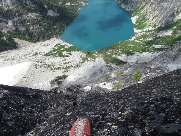 """Rock Climbing Dragontail Peak-East Ridge Climb"""