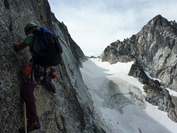 """""""Rock Climbing Dragontail Peak"""""""