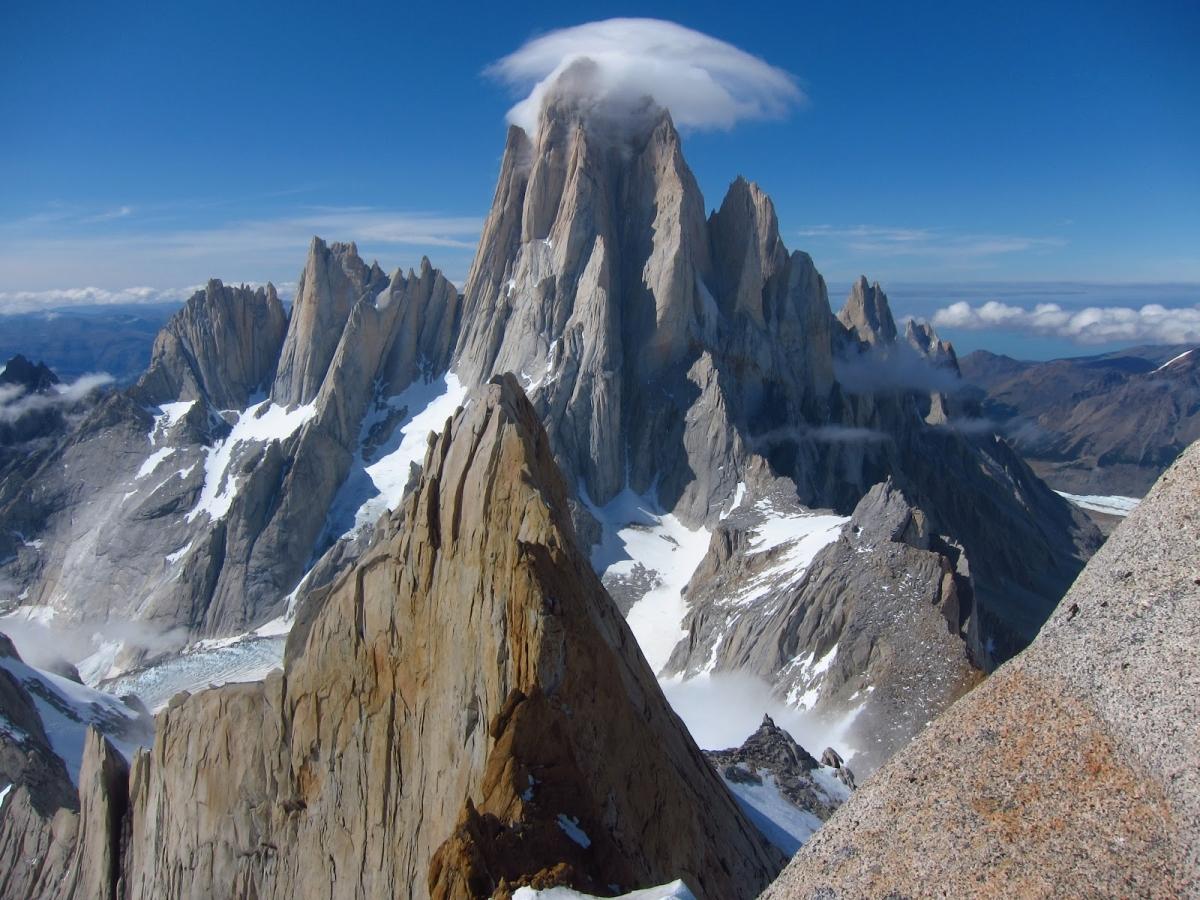 Rock Climbing Torre Central Climb Torres Del Paine