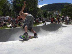 Queenstown Skatepark, South Island