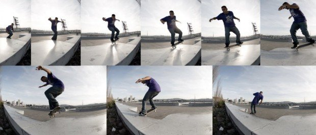 """Skateboarding at Frisco"""