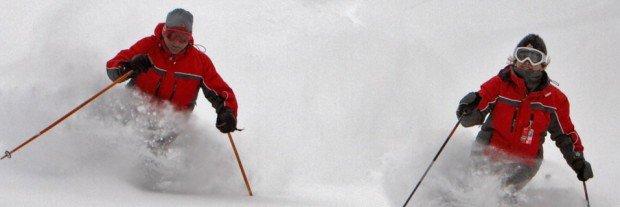 """""""Skiboarding at Le Valinouet"""""""