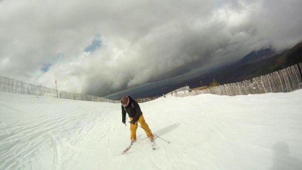 """""""Skier at La Pinilla"""""""