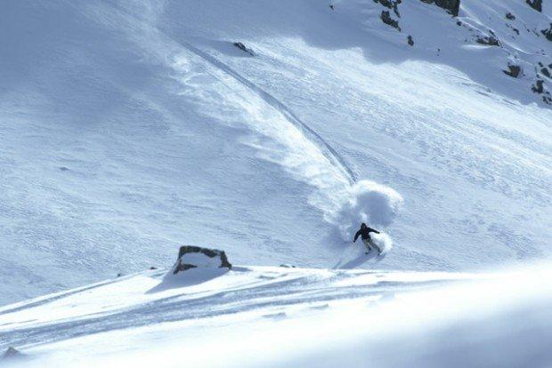 """""""Skier at Mt Olympus Ski Area"""""""
