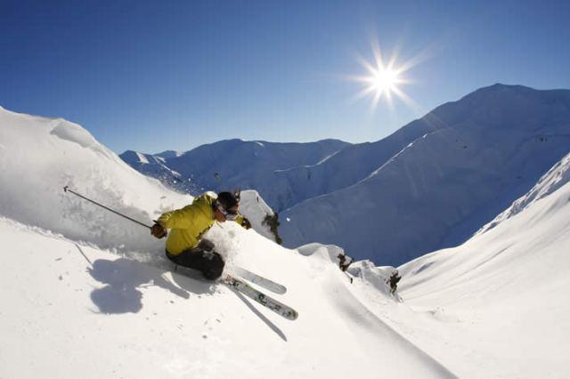 Alpine Skiing Mount Hutt Methven Canterbury New Zealand