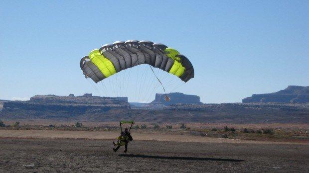 """Skydivers at Longmont"""