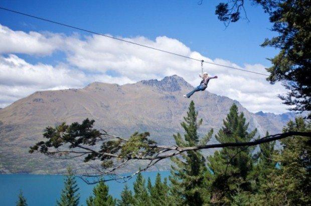 """Skyline Gondola Ziplining"""