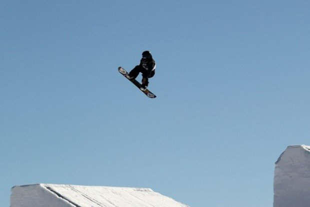"""Snow Park, Snowboarding"""