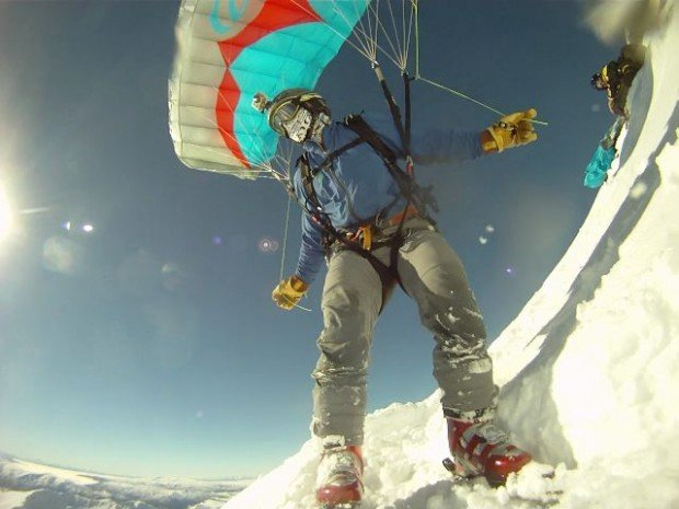 """""""Snow-kiting at the Remarkables"""""""