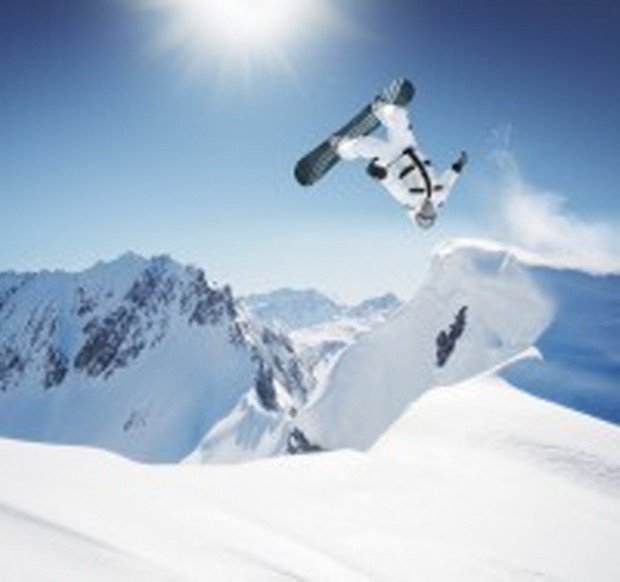 """""""Snowboarder at Mountain High"""""""