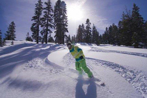 """Snowboarder at Northstar"""
