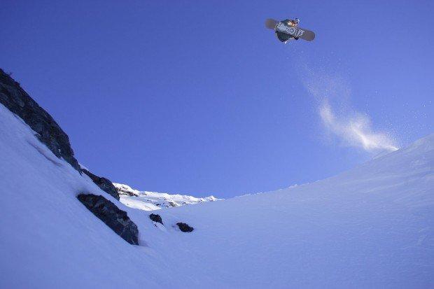 """Snowboarding Cerro Castor Ski Resort"""
