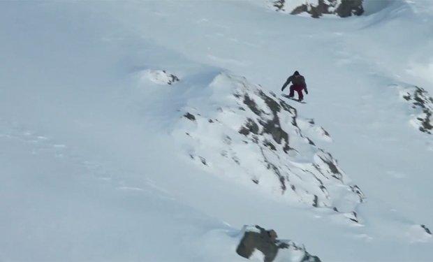 """Snowboarding at Mt Olympus Ski Area"""