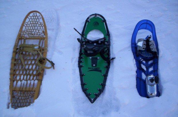 """Snowshoeing Indian-Creek-Trail"""