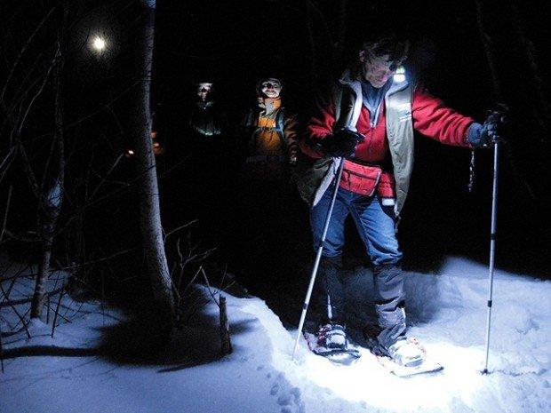 """""""Snowshoeing Mont Biencourt"""""""