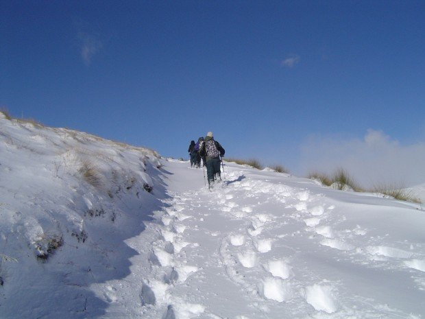 """""""Snowshoeing at Queenstown Otago"""""""