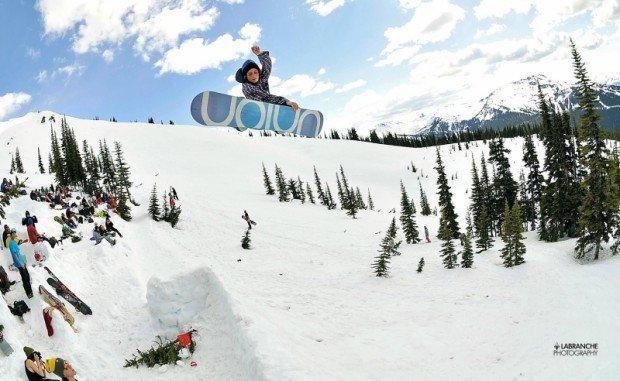 """""""Snowskating at Massif du Sud"""""""