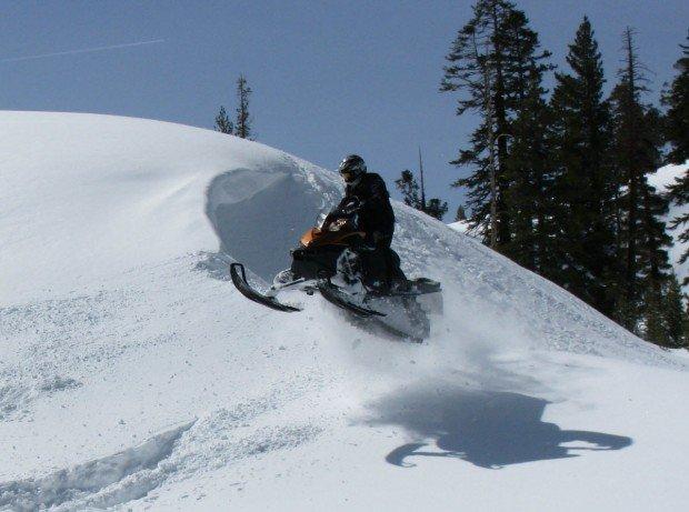 """Sonora Pass Snowmobiler"""