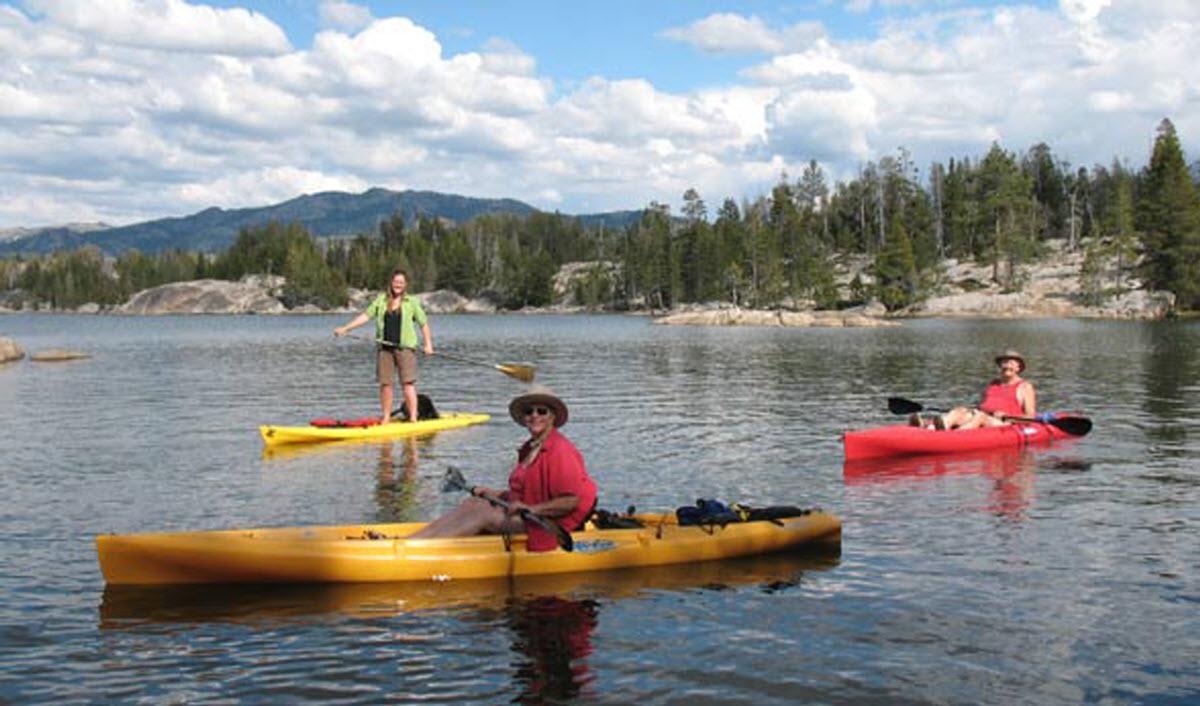 Kayaking spicer reservoir angels camp california usa for Union valley reservoir fishing