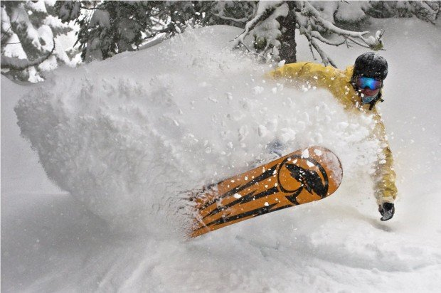 """""""Squaw Valley Snowboarding"""""""