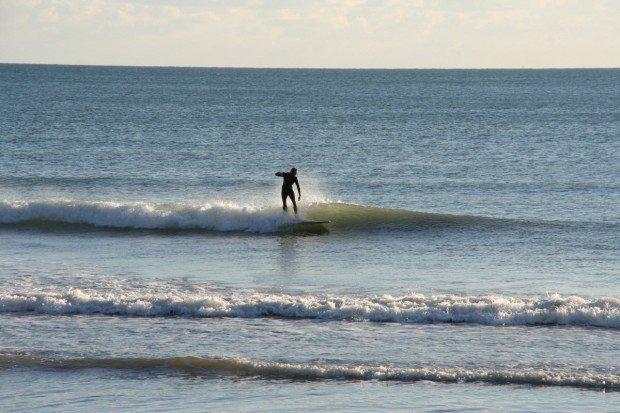 """Surfer at Pebble Beach"""