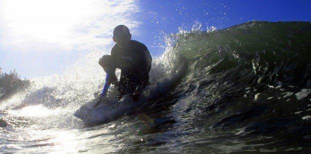 """Surfing Baldwin Beach"""
