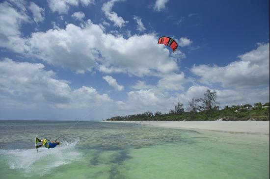 """""""Watamu Beach, Malindi Kitesurfing"""""""