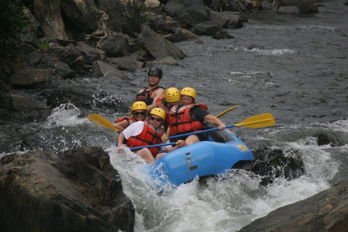 White Water Rafting Clear Creek Idaho Springs Colorado Usa