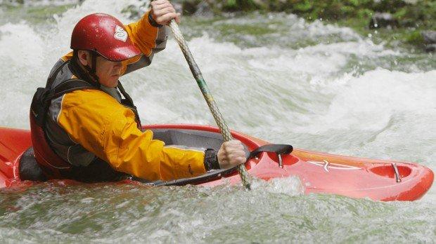"""Whitewater Kayaking Icicle Creek-Ida Creek"""