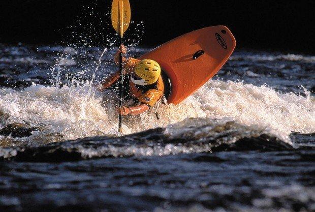 """""""Whitewater Kayaking Peshastin Creek"""""""