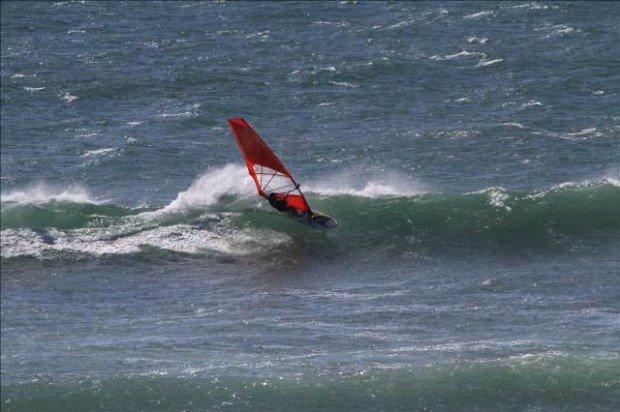 """""""Windsurfer in Action, SA"""""""