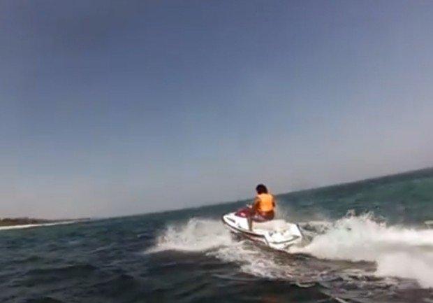 """""""Diani Beach, Kwale jetskiing"""""""