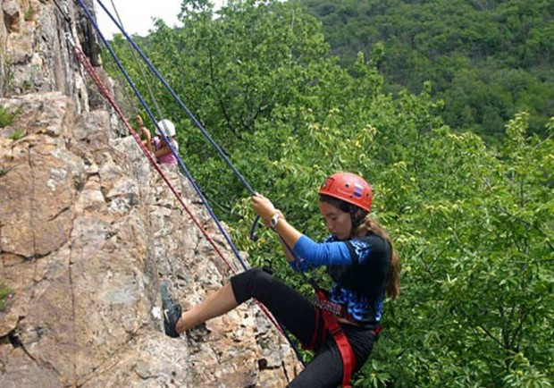 """""""Abseiling"""""""