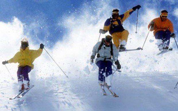 """Alpine Skiing at Belle Neige"""