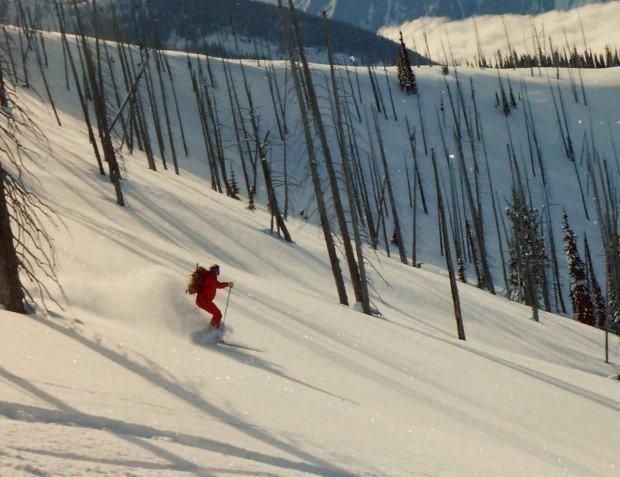 """Alpine Skiing at Mont Cascades"""
