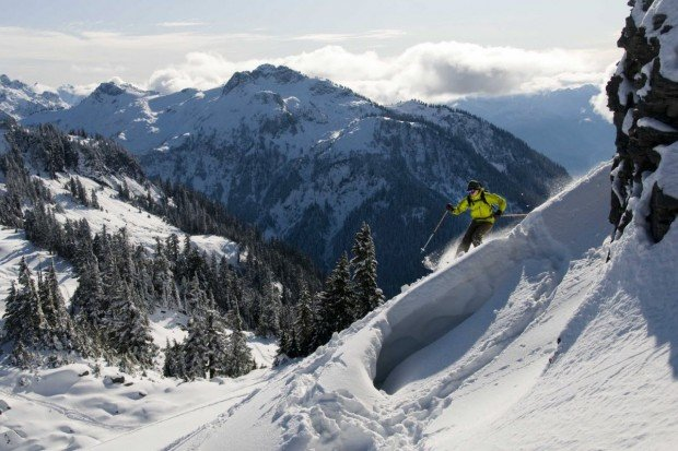 """""""Alpine Skiing at Mont Olympia"""""""